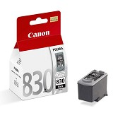 CANON Black Ink Cartridge [PG830] - Tinta Printer Canon